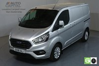 USED 2018 18 FORD TRANSIT CUSTOM 2.0 300 LIMITED L1 H1 SWB 129 BHP EURO 6 AIR CON  MANUFACTURER WARRANTY UNTIL 14/08/2021