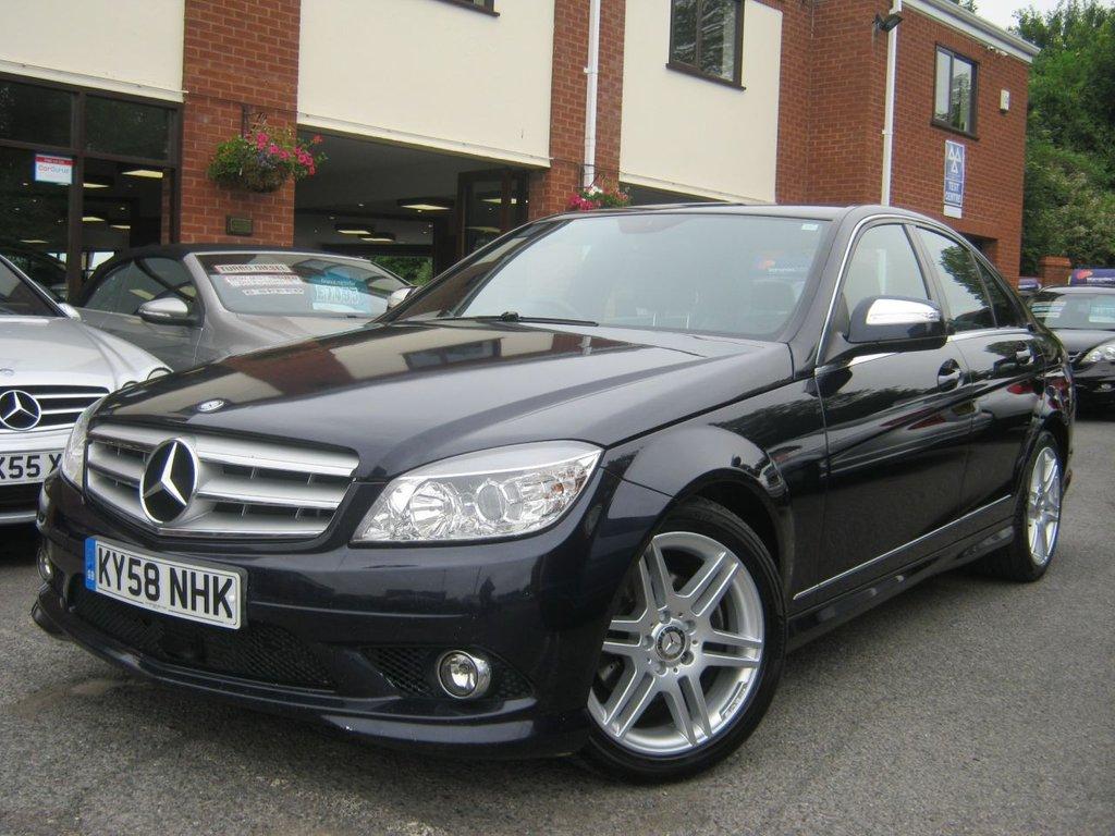 2008 Mercedes-Benz C Class C220 CDI Sport £5,495