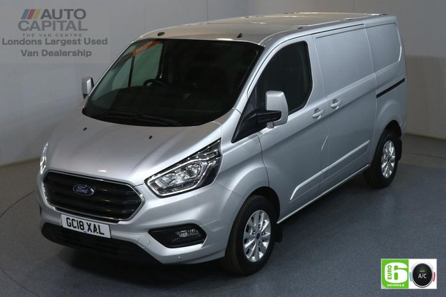 2018 18 FORD TRANSIT CUSTOM 2.0 300 LIMITED L1 H1 SWB 129 BHP EURO 6 AIR CON  MANUFACTURER WARRANTY UNTIL 14/08/2021