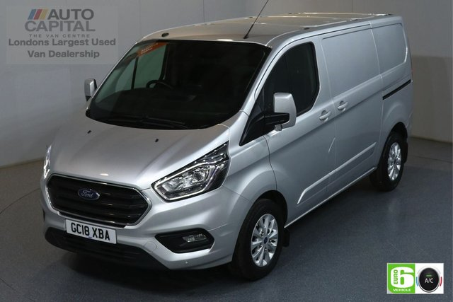 2018 18 FORD TRANSIT CUSTOM 2.0 300 LIMITED  L1 H1 SWB 129 BHP EURO 6 AIR CON   MANUFACTURER WARRANTY UNTIL 15/08/2021