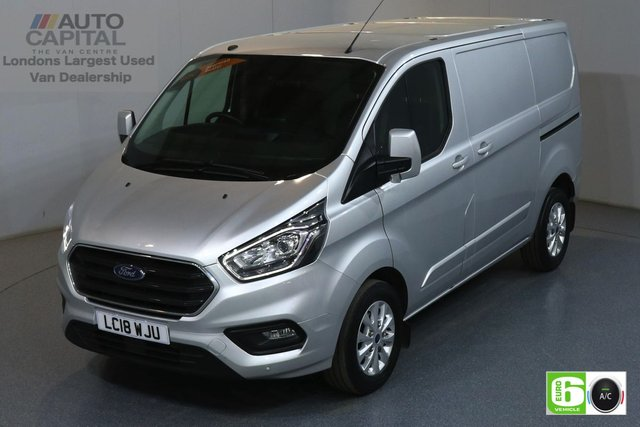 2018 18 FORD TRANSIT CUSTOM 2.0 300 LIMITED L1 H1 SWB 129 BHP EURO 6 AIR CON  MANUFACTURER WARRANTY UNTIL 19/06/2021