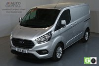 USED 2018 18 FORD TRANSIT CUSTOM 2.0 300 LIMITED L1 H1 SWB 129 BHP EURO 6 AIR CON  MANUFACTURER WARRANTY UNTIL 19/06/2021