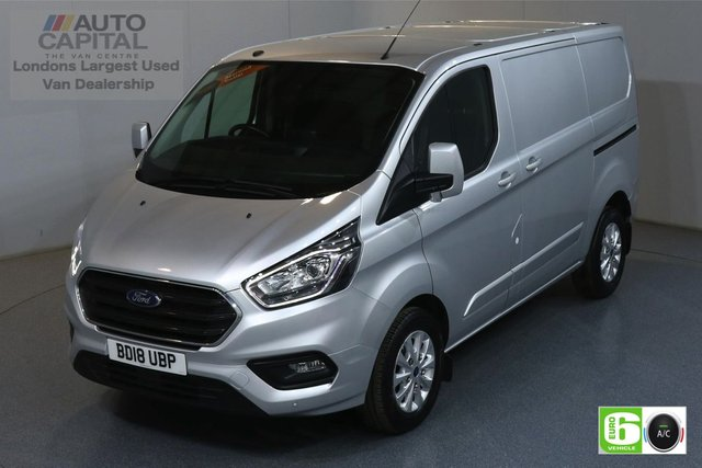 2018 18 FORD TRANSIT CUSTOM 2.0 300 LIMITED L1 H1 SWB 129 BHP EURO 6 AIR CON  MANUFACTURER WARRANTY UNTIL 04/07/2021