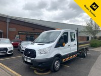 USED 2016 16 FORD TRANSIT 2.2 350 TDCI 125PS ONE STOP D/CB 7ST 4D TIPPER