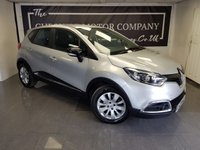 2015 RENAULT CAPTUR 1.5 EXPRESSION PLUS ENERGY DCI S/S 5d + 1 FORMER KEEPER £5775.00