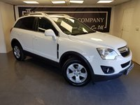 USED 2013 62 VAUXHALL ANTARA 2.2 EXCLUSIV CDTI 2WD S/S 5d + HALF LEATHER + PRIVACY