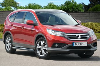 2013 HONDA CR-V 2.0 I-VTEC EX 4WD Panoramic  £11745.00