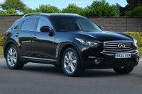 USED 2012 62 INFINITI FX 3.0 FX30D GT 5d AUTO 235 BHP ONE OWNER Plus Demo
