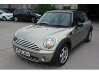 USED 2006 56 MINI HATCH COOPER 1.6 COOPER 3d 118 BHP ONLY 51K MILES, 9 STAMPS