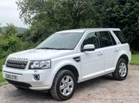 USED 2013 63 LAND ROVER FREELANDER 2.2 TD4 GS 5d AUTO 150 BHP 1 OWNER FROM NEW