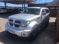 "USED 2009 59 DODGE NITRO 2.8 SXT TD 5d 175 BHP ONLY 31K MILES, 20"" ALLOY WHEELS"