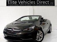 2013 VAUXHALL CASCADA 2.0 SE CDTI 2d AUTO 165 BHP £6991.00