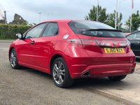 USED 2010 60 HONDA CIVIC 1.8 I-VTEC SI-T 5d 138 BHP NAVIGATION SYSTEM + HALF LEATHER + 17 INCH ALLOYS +