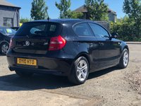 USED 2010 10 BMW 1 SERIES 2.0 116D ES 3d 114 BHP ALLOYS WHEELS +   SERVICE RECORDS +  CLIMATE CONTROL +  FULL YEAR MOT +  2 PREVIOUS KEEPERS +