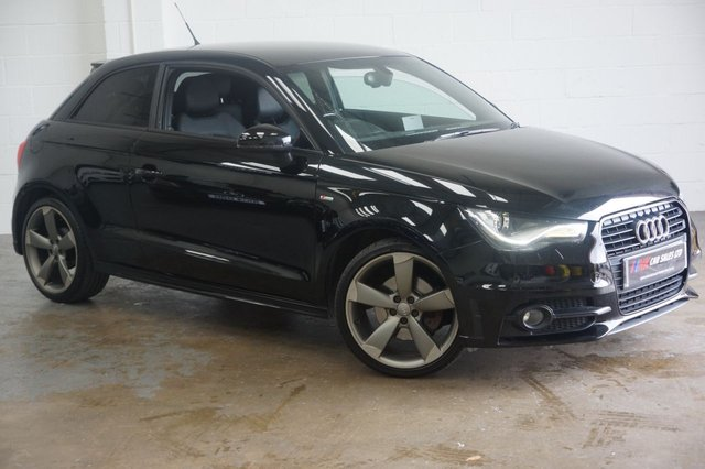 2012 61 AUDI A1 1.4 TFSI BLACK EDITION 3d AUTO VERY RARE SOLD TO TOM FROM READING