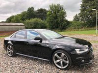 2013 AUDI A4 2.0 TDI 177 Black Edition 4dr £10995.00