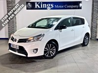 USED 2013 63 TOYOTA VERSO 2.0 ICON D-4D 5dr  7 Seat, Sat Nav, Parking Camera, 1 Owner , FSH , Lovely Example