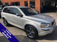 """USED 2012 62 VOLVO XC90 2.4 D5 R-DESIGN NAV AWD 5DOOR AUTO 200 BHP Family 7-Seater   :   AUX Socket   :   Cruise Control   :   Phone Bluetooth Connectivity      Climate Control/Air Con  :  Heated Front Seats/Electric Driver Seat  :  Rear Parking Sensors      19"""" Alloy Wheels   :   2 Keys   :   Comprehensive Service History"""