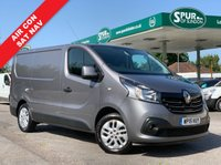 USED 2015 15 RENAULT TRAFIC 1.6 SL27 SPORT ENERGY DCI S/R P/V 1d 120 BHP SAT NAV, Air Con, Cruise Control, Hands Free Phone, Alloy Wheels.