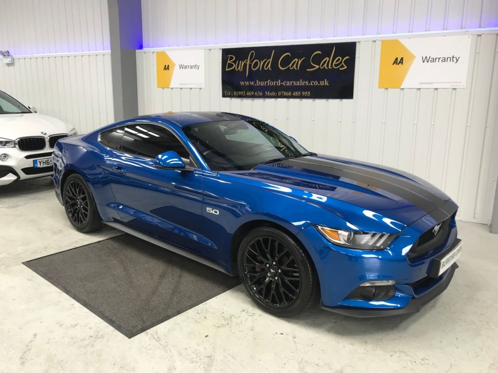 2016 ford mustang 5 0 gt 2d 410 bhp £29990