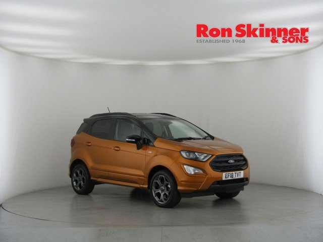 View our 2018 18 FORD ECOSPORT 1.0 ST-LINE 5d 124 BHP