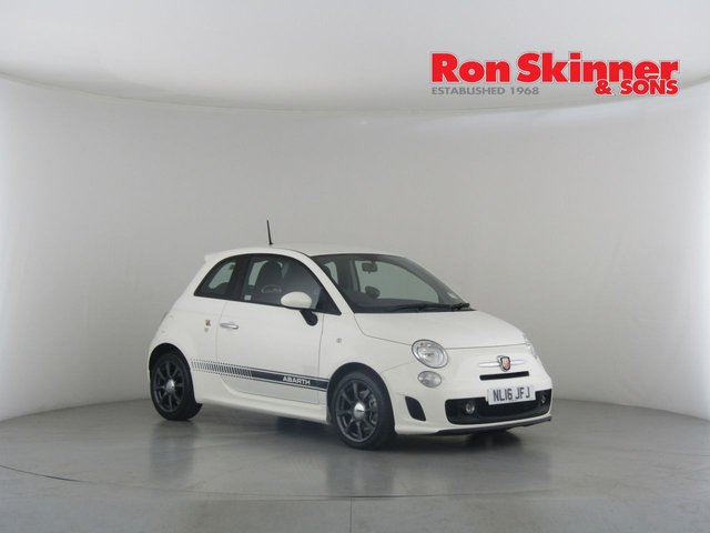 View our 2016 16 ABARTH 500 1.4 595 3d 138 BHP