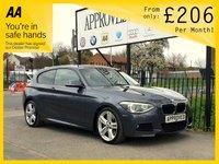 2013 BMW 1 SERIES 2.0 125D M SPORT 3d AUTO 215 BHP £10495.00