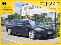 2012 BMW 5 SERIES 3.0 530D M SPORT 4d AUTO 242 BHP £11250.00