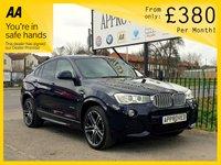 2015 BMW X4 3.0 XDRIVE30D M SPORT 4d AUTO 255 BHP £19795.00