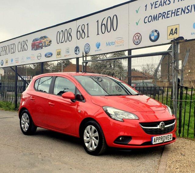 2016 Vauxhall Corsa Design £6,995