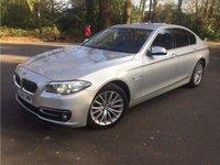 USED 2015 64 BMW 5 SERIES 2.0 525D LUXURY 4d AUTO 215 BHP