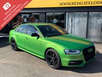USED 2014 14 AUDI A4 1.8 TFSI BLACK EDITION S/S 4d 168 BHP