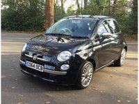 USED 2014 64 FIAT 500 1.2 DUALOGIC CULT 3d AUTO 69 BHP