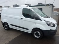 USED 2017 17 FORD TRANSIT CUSTOM 2.0 290 LOW ROOF GAH CHILLER, 104 BHP