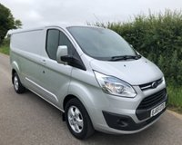 2015 FORD TRANSIT CUSTOM 290 LIMITED LR P/V £8995.00