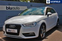 "USED 2014 14 AUDI A3 2.0 TDI SPORT 5d 148 BHP Full Audi Servicing History with 2 Private Owners; Electric Panoramic Roof, Parking Sensors, Satellite Navigation, Bluetooth with Audio Streaming and 18"" Diamond-Cut Alloy Wheels..."