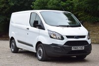USED 2015 65 FORD TRANSIT CUSTOM 2.2 290 LR P/V 5d 99 BHP