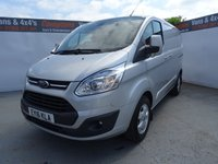 USED 2016 16 FORD TRANSIT CUSTOM 2.2 290 LIMITED LR P/V 1d 124 BHP FORD TRANSIT CUSTOM LIMITED COVERD ONLY 16000 MILES