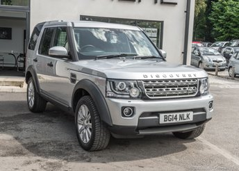 2014 LAND ROVER DISCOVERY 3.0 SDV6 COMMERCIAL xs 5d 255 BHP £14990.00