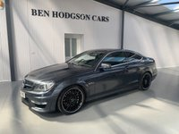 USED 2012 62 MERCEDES-BENZ C CLASS 6.2 C63 AMG 2d AUTO 457 BHP Naturally aspirated 6.3 v8 engine!