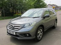 USED 2014 14 HONDA CR-V 2.2 I-DTEC EX 5d AUTO 150 BHP AWD 1 PREV OWNER , AUTOMATIC