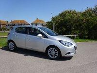 2016 VAUXHALL CORSA 1.4 SE 5d AUTO 89 BHP, Silver, Under 3400 miles, Ex Motability £10395.00