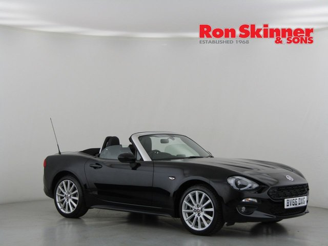 View our 2016 66 FIAT 124 1.4 SPIDER MULTIAIR LUSSO PLUS 2d 139 BHP