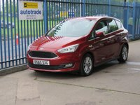 USED 2015 65 FORD C-MAX 1.5 ZETEC TDCI 5dr DAB Rear park sensors Bluetooth Just £20 Road Tax,Service History,Great Economy
