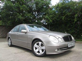 2005 MERCEDES-BENZ E CLASS 2.1 E220 CDI AVANTGARDE 4d AUTO 150 BHP £2950.00