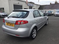 USED 2009 CHEVROLET LACETTI 1.6 SX 5d 108 BHP 1 years mot