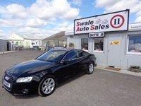 USED 2011 11 AUDI A5 1.8 TFSI SE 2 DOOR AUTO 158 BHP £43 PER WEEK, NO DEPOSIT - SEE FINANCE LINK