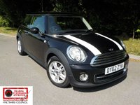2012 MINI HATCH COOPER 1.6 COOPER 3d 122 BHP £SOLD