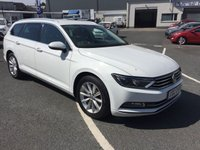 2017 VOLKSWAGEN PASSAT 1.6 SE BUSINESS TDI BLUEMOTION TECHNOLOGY 5d 119 BHPestate £12750.00