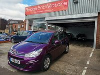 USED 2015 15 CITROEN C3 1.2 PURETECH VTR PLUS S/S ETG 5d AUTO 80 BHP £0 ROAD TAX AND ONLY 12237 MILES FROM NEW, GREAT SPEC PURETECH VTR PLUS INCLUDING - AIR CONDITIONING, PARKING SENSORS, CRUISE CONTROL AND FULL SERVICE HISTORY! EXCELLENT FUEL ECONOMY AND MEETS LARGE CITY EMISSION STANDARDS!